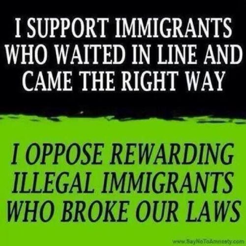 Supporting immigrants who don't cheat