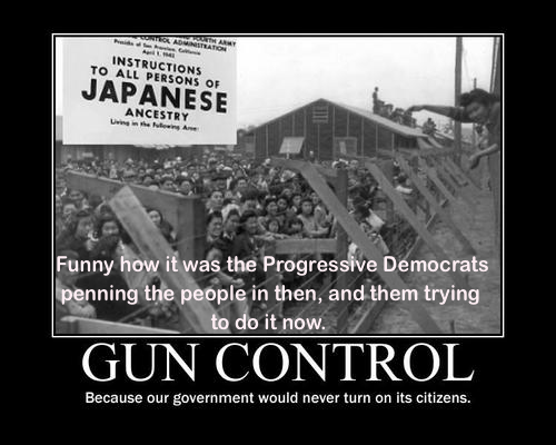 Democrats penned Japanese