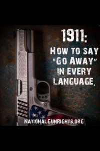 Gun How to say go away in every language