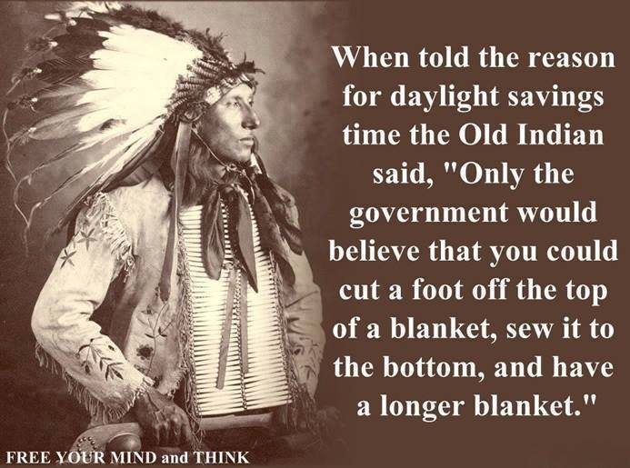 Indian on daylight savings time