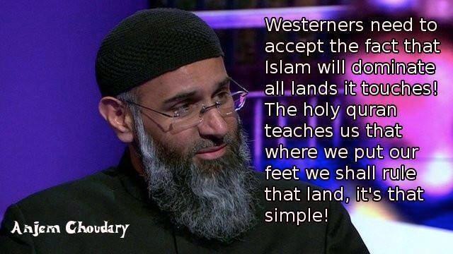 Islam intends to conquer all