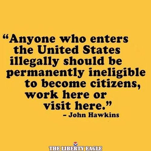 John Hawkins would permanently limit civil rights for illegal aliens