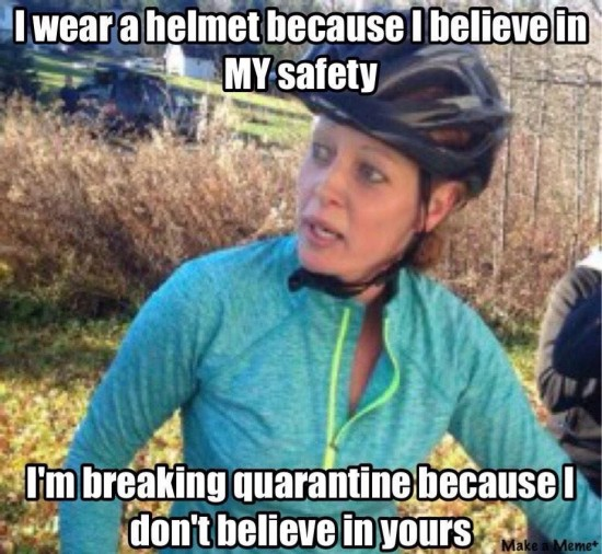 Kaci Hickox believes in her safety, not yours