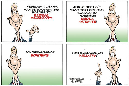 Obama borders on insanity