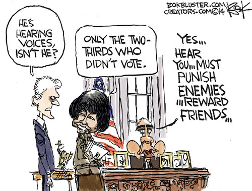 Obama hear voices of those who didn't vote