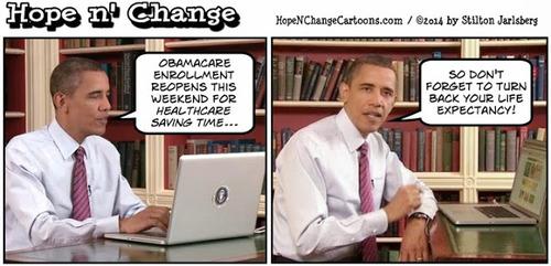 Obamacare part ii cartoon