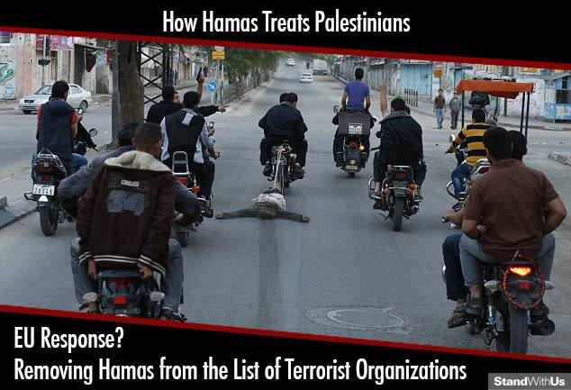 EU takes terrorist Hamas off of terrorist list