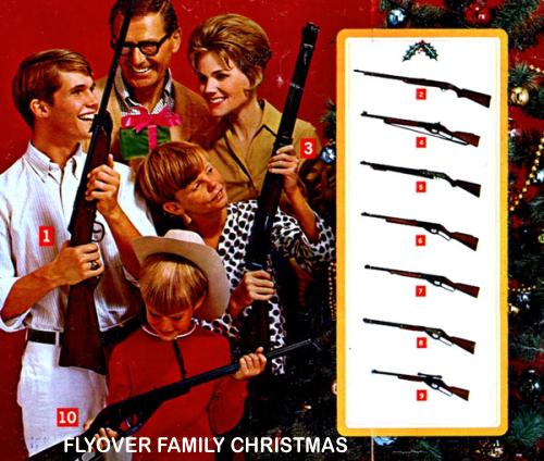 Flyover family Christmas