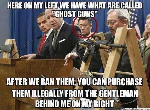 Leland Yee and ghost guns