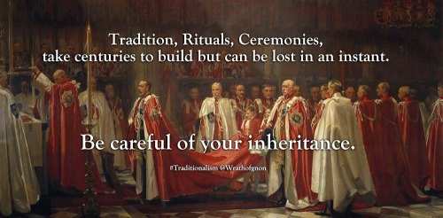 Traditions and rituals we value can vanish in minutes