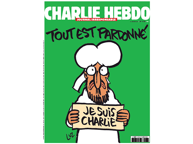 Charlie Hebdo Je Suis Charlie cover