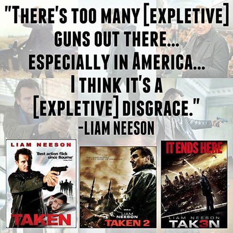Liam Neeson hypocrite