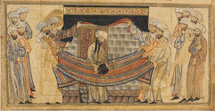 Mohamed solving a dispute