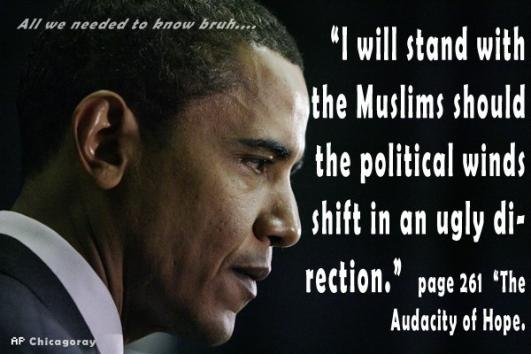 Obama will stand with Islam