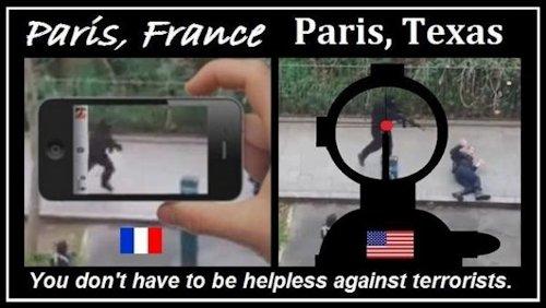 Paris France v Paris Texas