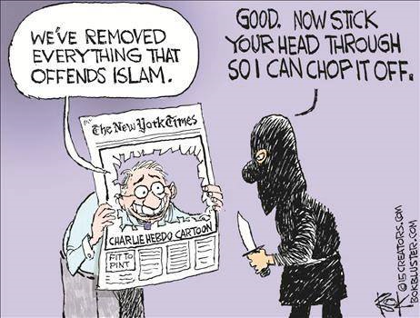 Removing everything that offends Islam