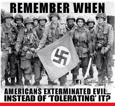 Americans used to extermnate not tolerate evil