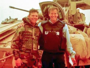 Brian Williams in Iraq
