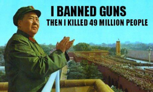 Mao banned guns then killed 49 million