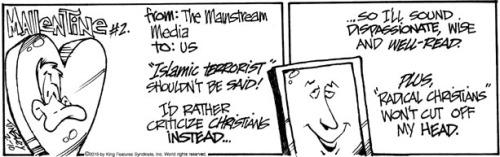 Media and radical Christians