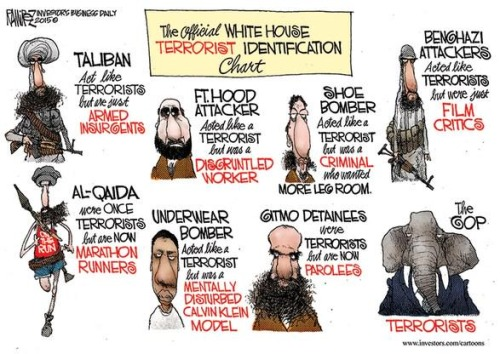Official white house terrorist id system