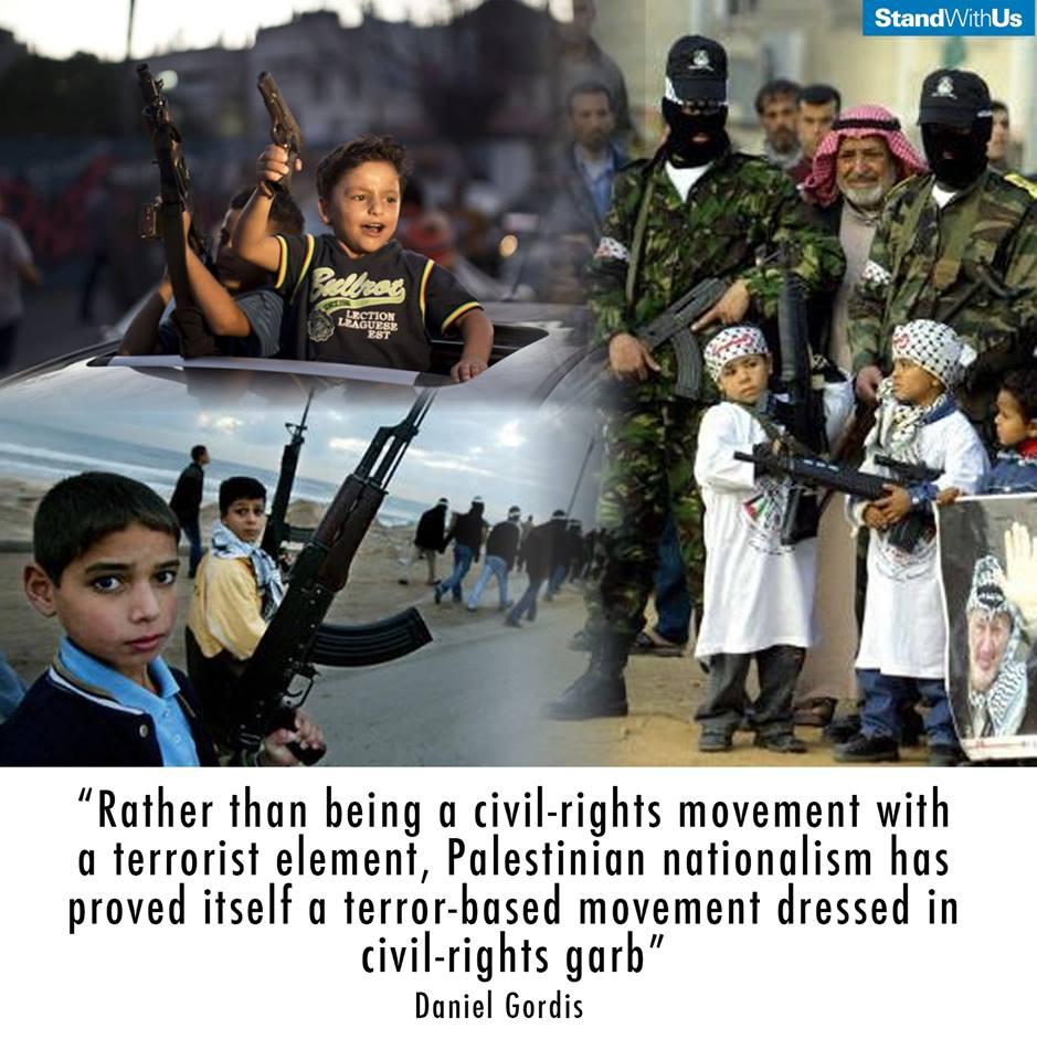 Palestinian movement is pure terrorism