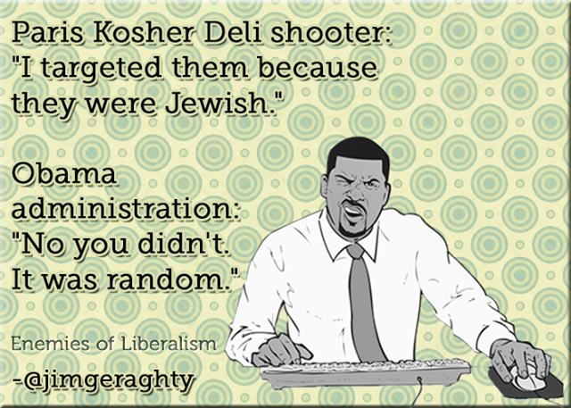 Paris Kosher Deli shooter targeted Jews Obama denies