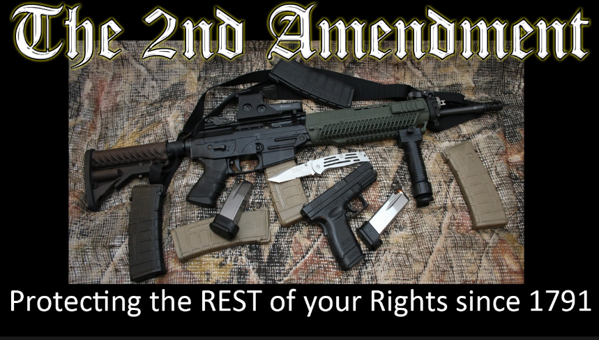 The second amendment protects the other rights