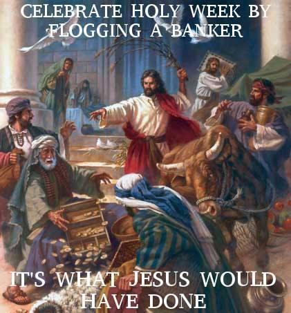 Flog a banker