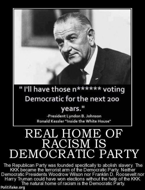 Johnson on chaining blacks to Democrat party through welfare
