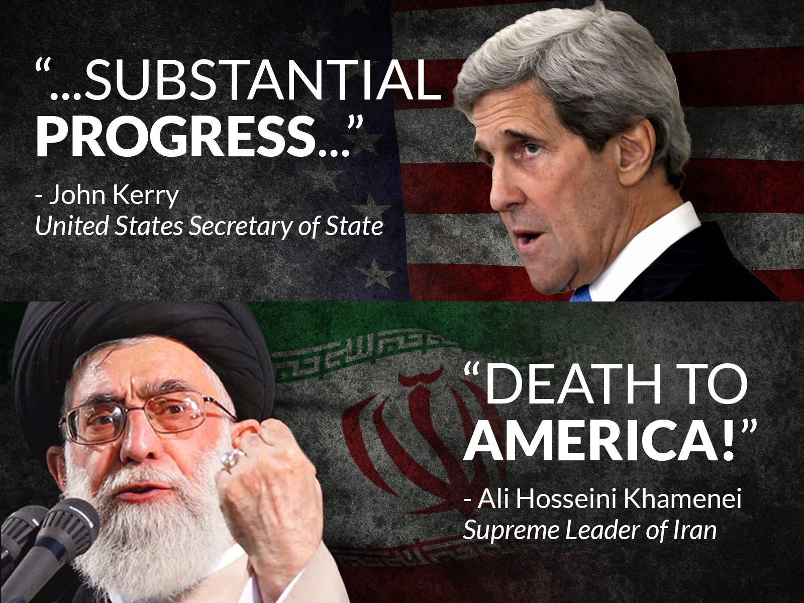 Obama Kerry Iran
