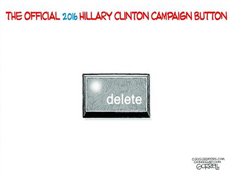 Official Hillary campaign button