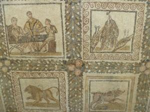 Mosaic in the Bardo Museum, Tunis