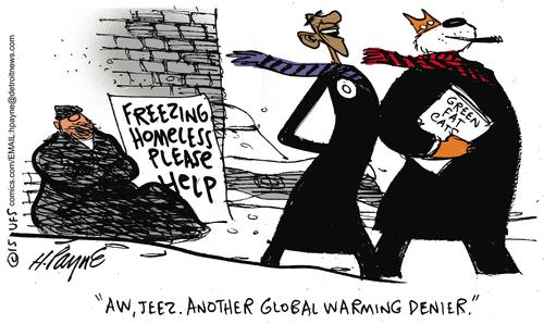 Global warming denier