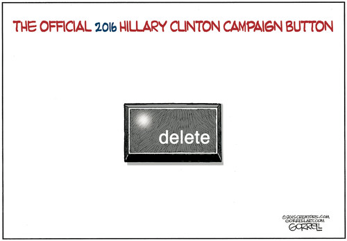 Hillary campaign button