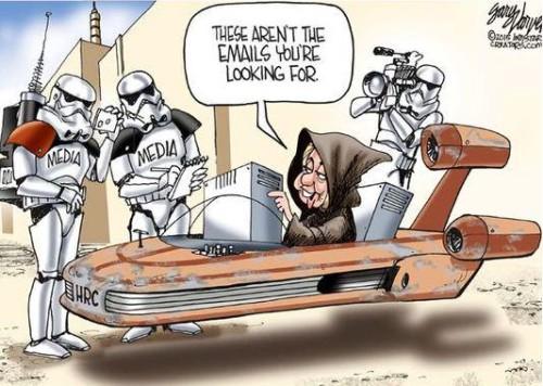 Hillary evil empire