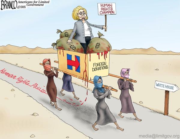 Hillary human rights