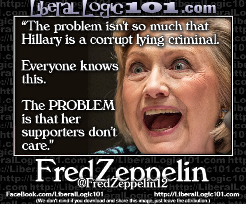 Hillary lies supporters ignore
