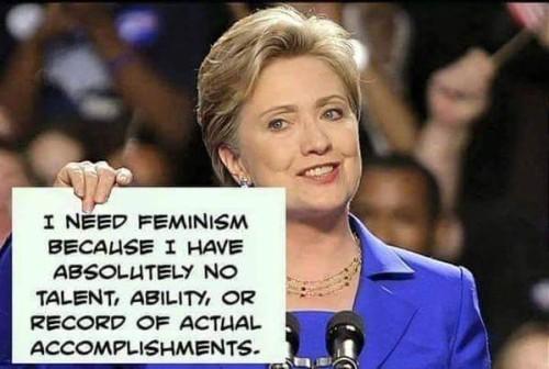 Hillary needs feminism