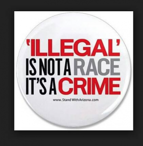 Illegal not a race a crime