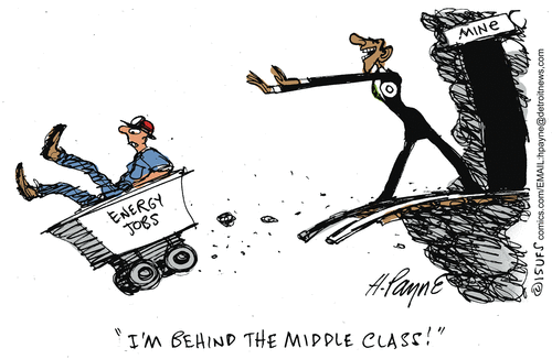 Obama Middle Class'