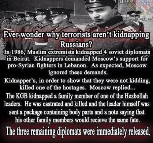 Terrorists Russians KGB