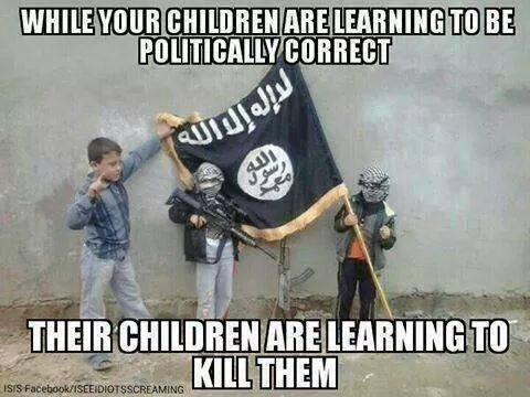 Children politically correct or killers