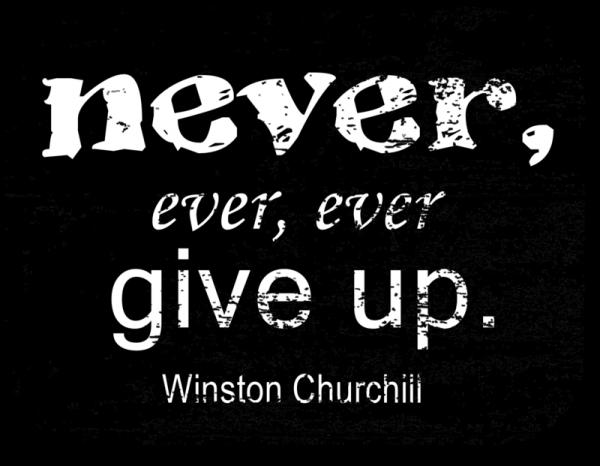 Churchill on hope