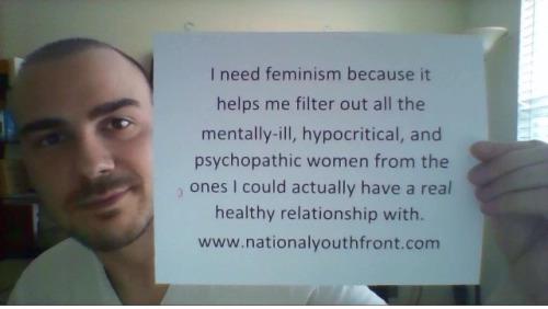 Crazy feminists