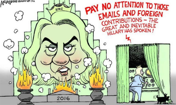 Hillary as the wizard of oz