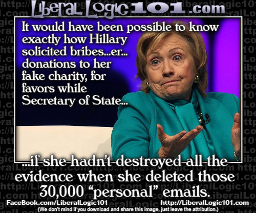 Hillary's deleted emails