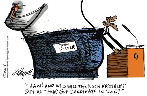 Kochs Obama Tom Steyer
