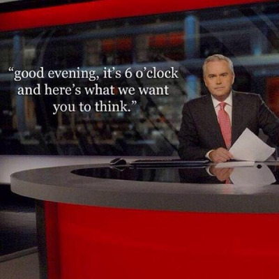 News tells us what to think