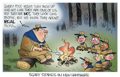 scary stories re New Hampshire primaries